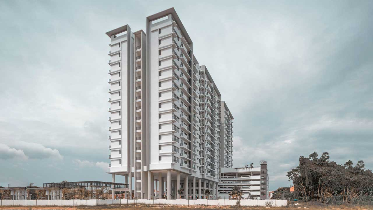 Airmas Group 79 Residence bukit mertajam penang architecture Eowon designs and architects by Eowon Design & Architecture