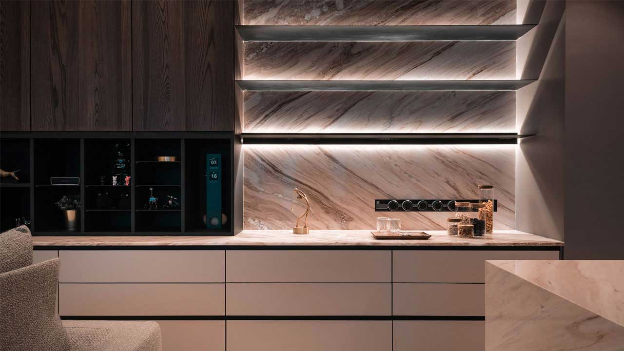 IJM Land The Light Collection 3 condominium penang interior design built in cabinet by Eowon Design & Architecture