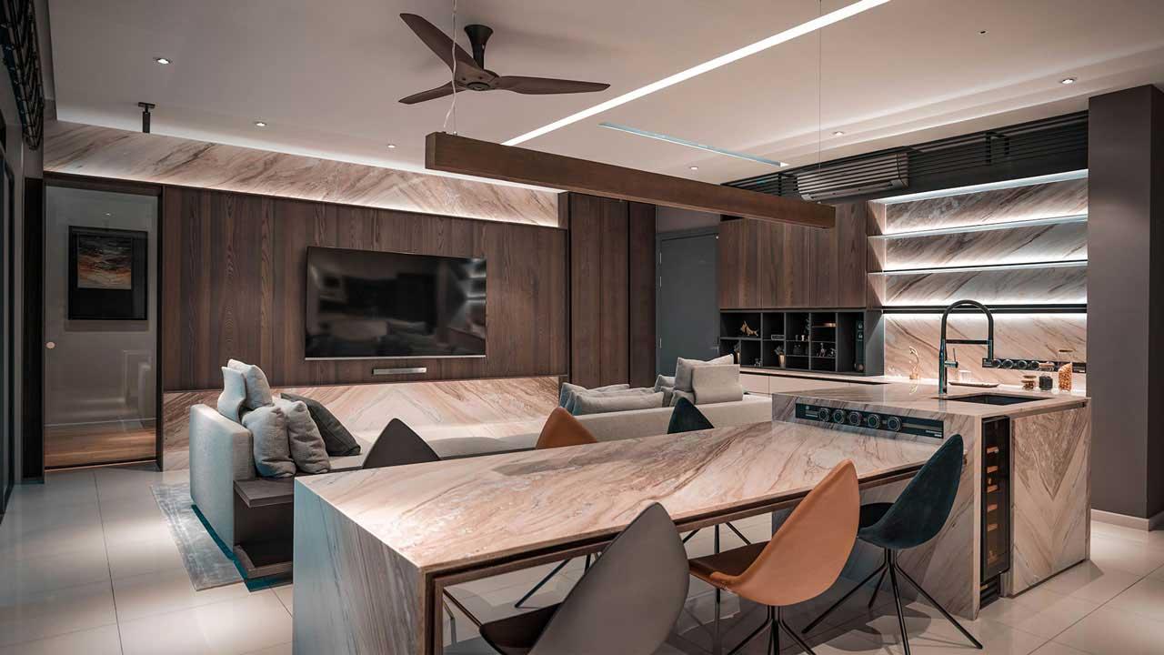IJM Land The Light Collection 3 condominium penang interior design by Eowon Design & Architecture